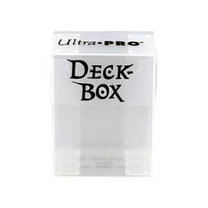 Ultra Pro Deck Box - Clear (REM81454)