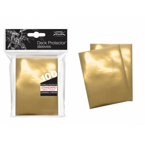 Ultra Pro Deck Protector Sleeves: 100  Vintage Gold (Card Sleeve)