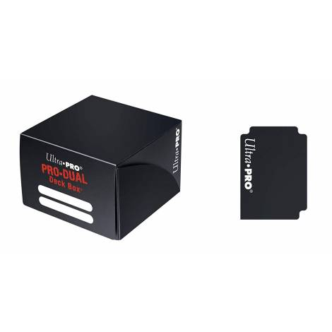 Ultra Pro Dual Deck Box Black Holds 180 Cards