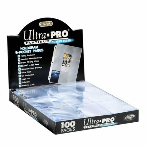 ULTRA PRO Hologram 9-pocket Album Pages 63x88