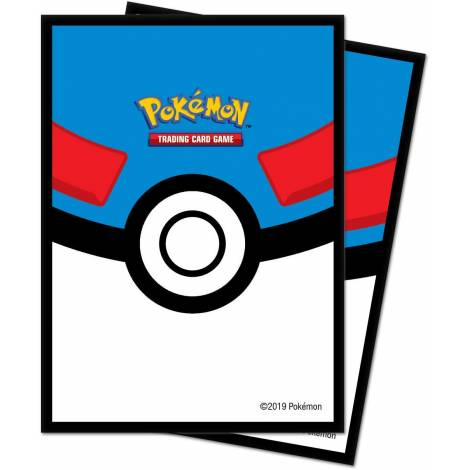 Ultra Pro POKEMON GREAT BALL DECK PROTECTOR 65-CT