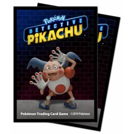 Ultra Pro Pokemon Sleeves - Detective Pikachu : Mr. Mime 65 Sleeves