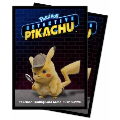 Ultra Pro Pokemon Sleeves - Detective Pikachu : Pikachu 65 Sleeves
