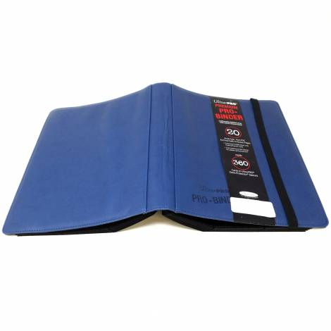 Ultra Pro Premium Pro Binder - Blue (Holds 360 Cards)