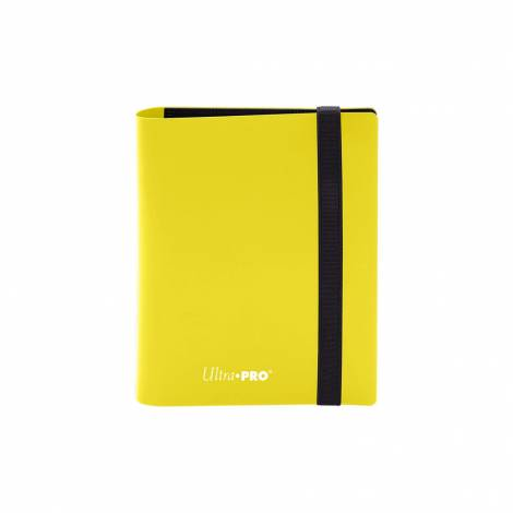 Ultra Pro - Pro Binder Holds 80 Cards Yellow