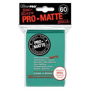 Ultra Pro - Pro Matte Small 60 Sleeves Aqua