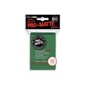 Ultra Pro - Pro Matte Small 60 Sleeves Green