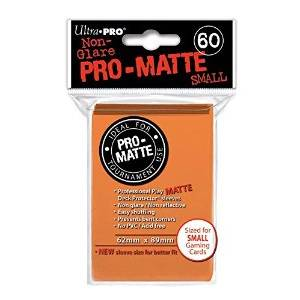 Ultra Pro - Pro Matte Small 60 Sleeves Orange