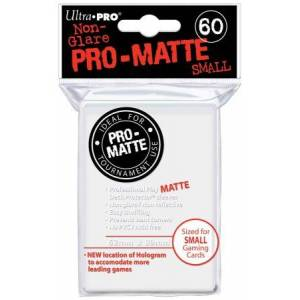 Ultra Pro - Pro Matte Small 60 Sleeves White