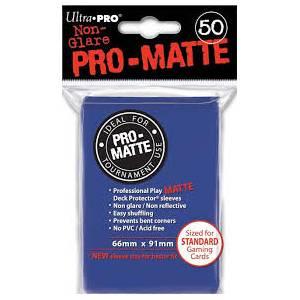Ultra Pro - Pro Matte Standard 50 Sleeves Blue