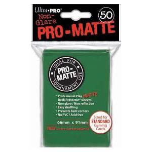 Ultra Pro - Pro Matte Standard 50 Sleeves Green