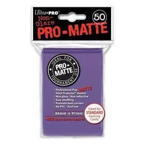 Ultra Pro - Pro Matte Standard 50 Sleeves Purple (REM84187)