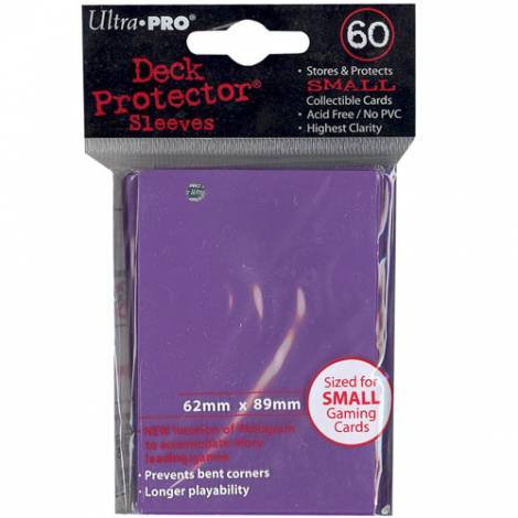 Ultra Pro - Purple Small 60 Sleeves