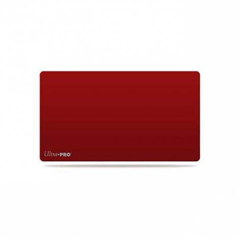 Ultra Pro Red Plain Playmat With Logo