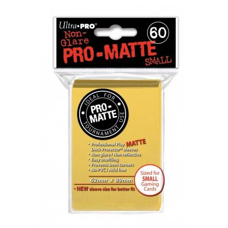 Ultra Pro - Small 60 sleeves Yellow