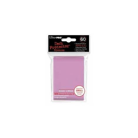 Ultra Pro - Small Solid Pink 60 Sleeves (REM82969)