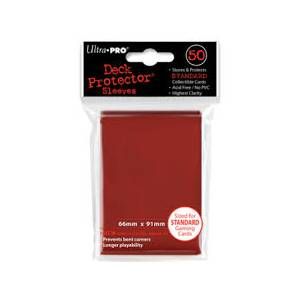 Ultra Pro - Standard 50 Sleeves Red