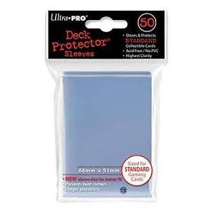 Ultra Pro - Standard 50 Sleeves Solid Clear