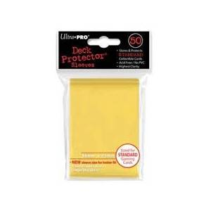 Ultra Pro - Standard 50 Sleeves Solid Yellow