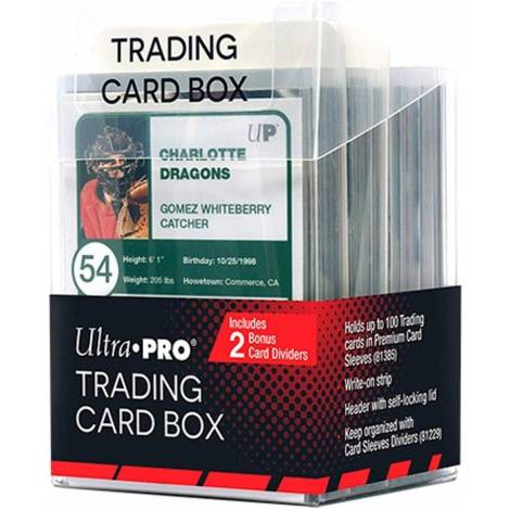 Ultra Pro - Trading Card Box