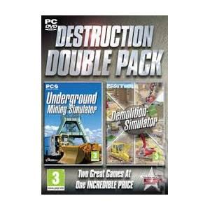 Underground Mining Simulator & Demolition Simulator - Double Pack (PC)