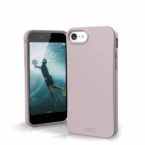Urban Armor Gear UAG Designed for iPhone SE 2020 Case Biodegradable Outback [Lilac] (112045114646)