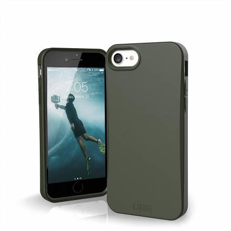URBAN ARMOR GEAR UAG Designed for iPhone SE 2020 Case Biodegradable Outback [Olive] (112045117272)