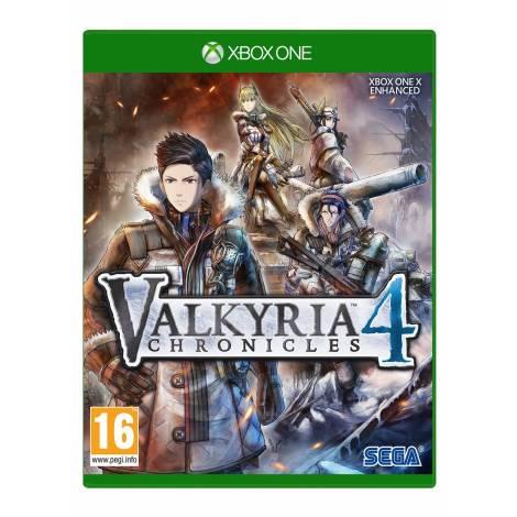 Valkyria Chronicles 4 +Ragnarok Sticker (Xbox One)