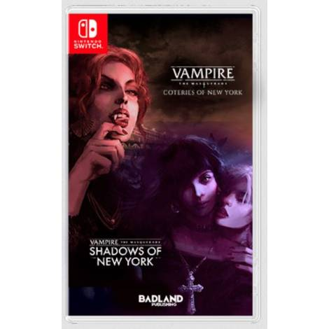 Vampire The Masquerade Coteries of New York + Shadows of New York (Nintendo Switch)