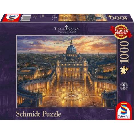 Vatican 1000pcs (59628) Schmidt Spiele