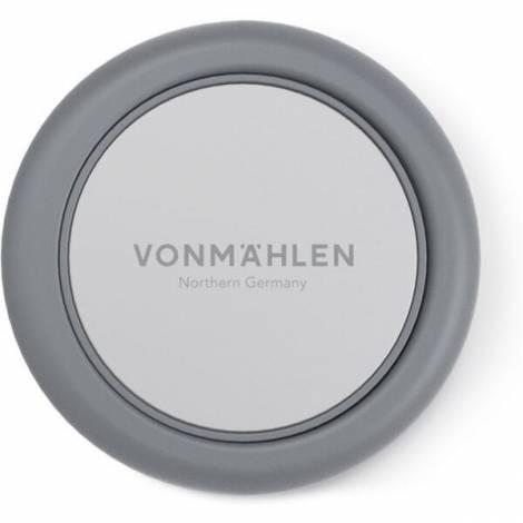 Vonmählen Backflip Signature Phone Grip ® Δαχτυλίδι Συγκράτησης με Μαγνητικό Κλιπ Αυτοκινήτου Silver (R041P0005)