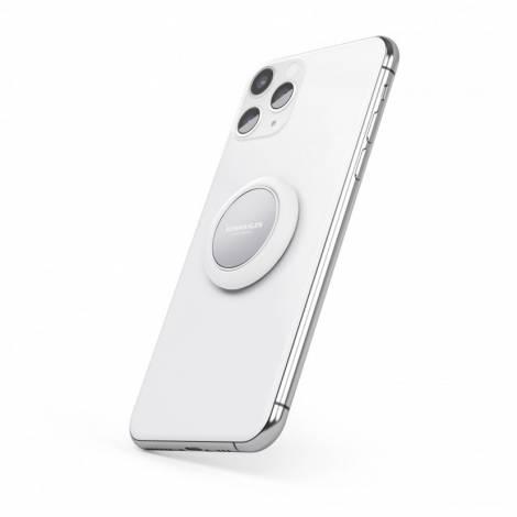 Vonmählen Backflip Signature Phone Grip Δαχτυλίδι Συγκράτησης (Silver) (R043P0007)