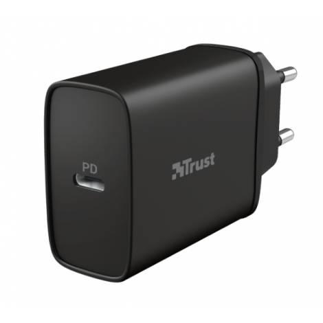 WALL CHARGER TRUST QMAX USBC PD18W 23556