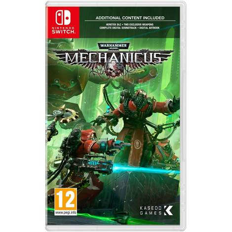 Warhammer 40, 000: Mechanicus (Nintendo Switch)