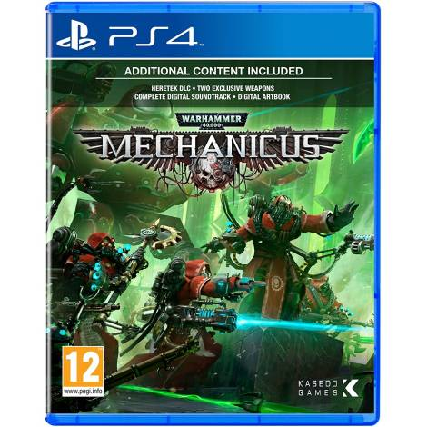 Warhammer 40, 000: Mechanicus (PS4)