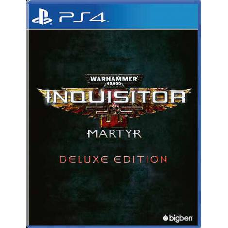 WARHAMMER 40,000 INQUISITOR MARTYR DELUXE EDITION (PS4)