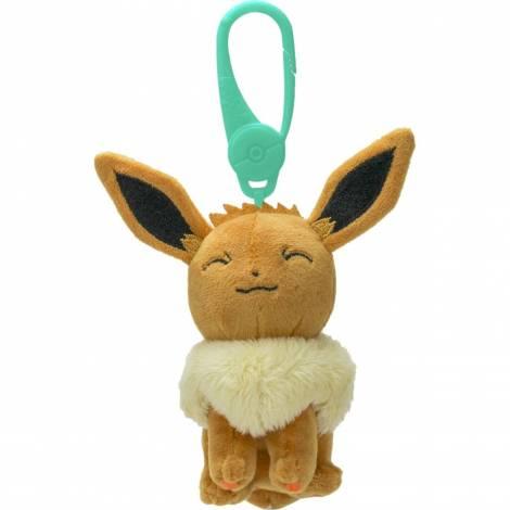 Wicked Cool Toys : Pokemon Clip-On  Eevee  Λούτρινο (JW095177)