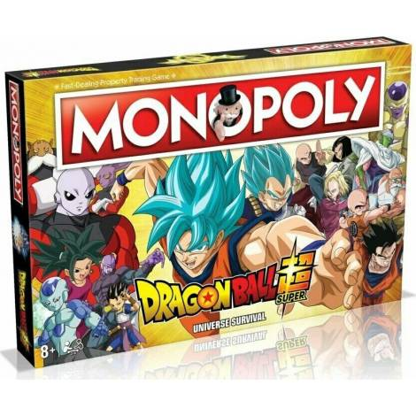 Winning Moves : Monopoly - DragonBall Super Universe Board Game (004095)