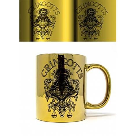 Pyramid Wizarding World - Harry Potter (Gringotts) Metallic Mug (FMG25017)