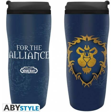 Abysse World Of Warcraft Alliance Travel Mug (ABYTUM015)