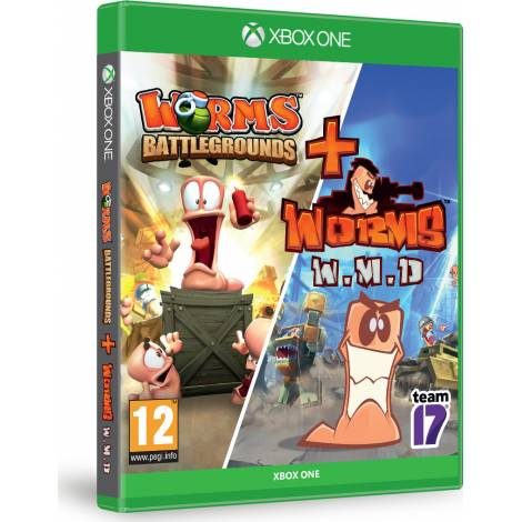 Worms Battelgrounds & Weapons Of Mass Destruction  (Xbox One)