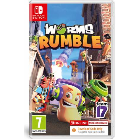 Worms Rumble - Code In A Box (NINTENDO SWITCH)