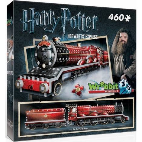 Wrebbit Παζλ 3D 460τεμ. (W3D-1009) Harry Potter Hogwarts Express