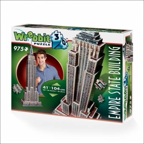 Wrebbit Παζλ 3D 975τεμ. (W3D-2007) Empire State Building