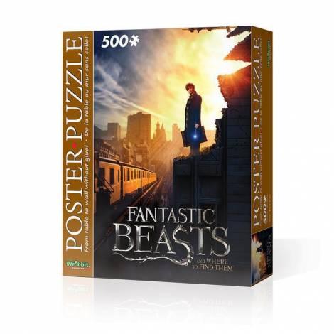 Wrebbit Puzzle Poster Fantastic Beasts New York City 500pcs (WR005006)