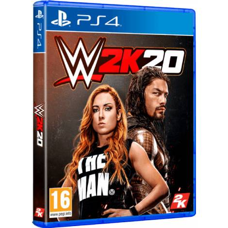 WWE 2K20 (PS4) (Day One Edition)