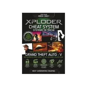 Xploder Cheat System Special GTA V Edition XBOX 360