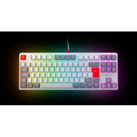 XTRFY K4 RGB Tenkeyless Gamning Keyboard Retro