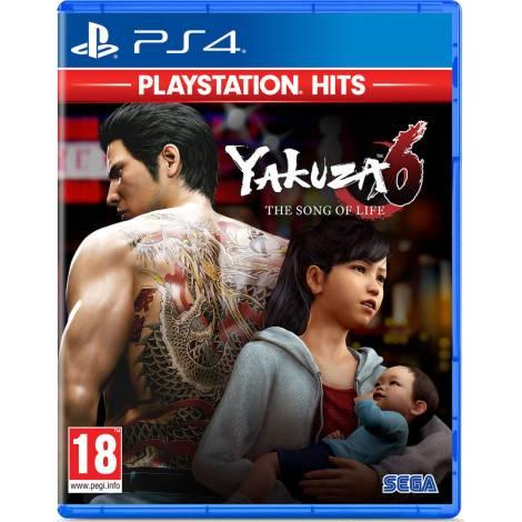 Yakuza 6 : The Song Of Life - Hits (PS4)