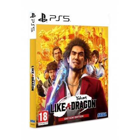 Yakuza Like a Dragon - Day Ichi Steelbook (PS5)